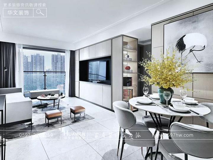 新中式小家 简洁中富有韵味